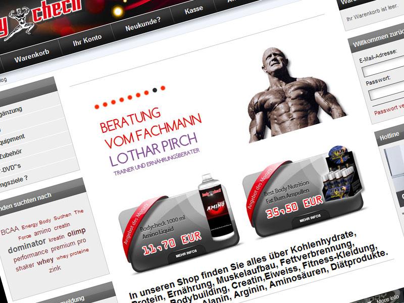 Bodycheck – Onlineshop