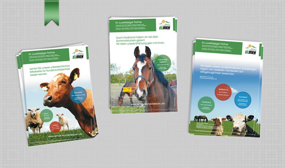 Werbekampagne Elmek im Patura-Katalog