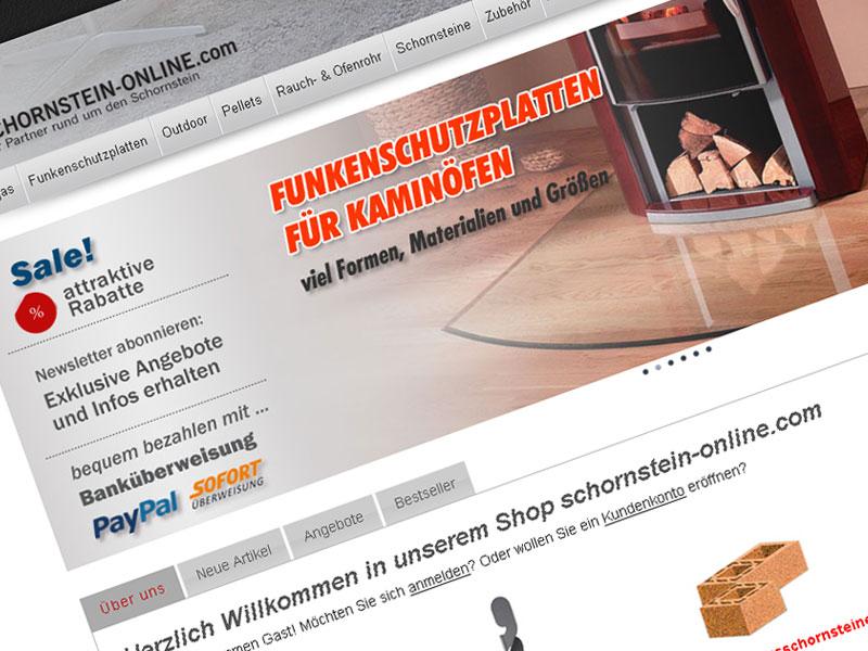 schornstein-online.com Online-Shop