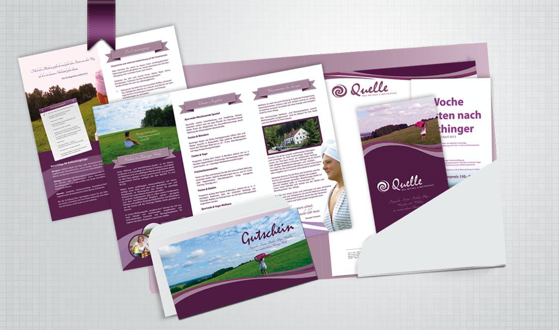 Print CI für das Wellnesshotel