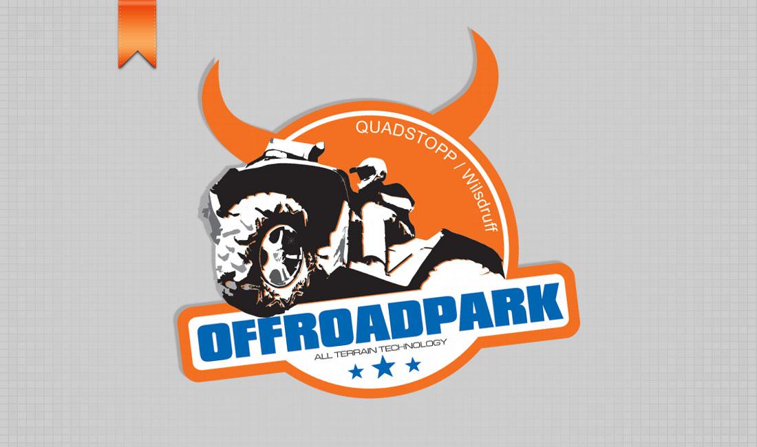 Logo / Aufkleber für Offroad-Park