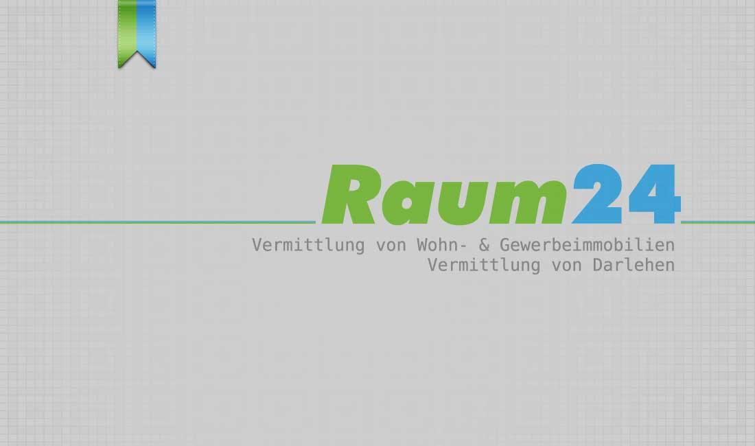 Raum24 Logo Immobilien