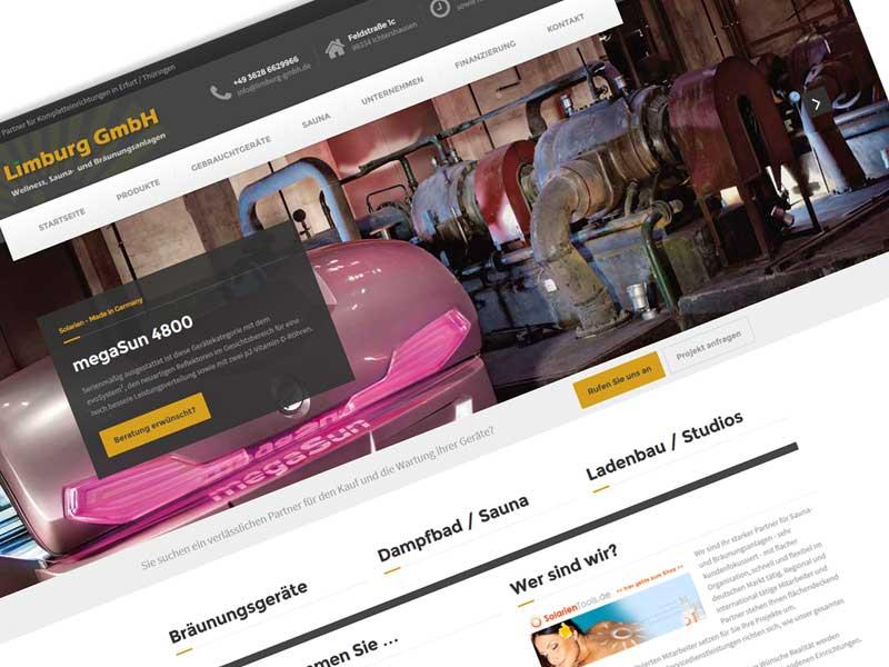 Redesign für Limburg GmbH