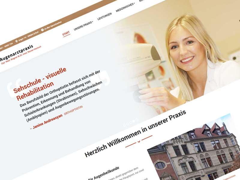 Augenarztpraxis in Erfurt